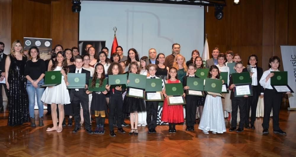 1. Uluslararası Rhapsody Piyano Festivali ve Yarışması Tamamlandı