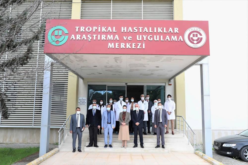 """Rektör Prof. Dr. Tuncel: """"Çukurova Üniversitesinin Kapıları Başta Genç Araştırmacılar Olmak Üzere Tüm Bilim İnsanlarına Açık"""""""