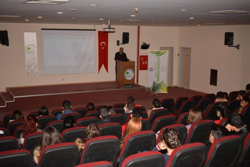ÇİSAM'dan Öğrencilere ve Personellere Yönelik İSG Eğitimi Verildi