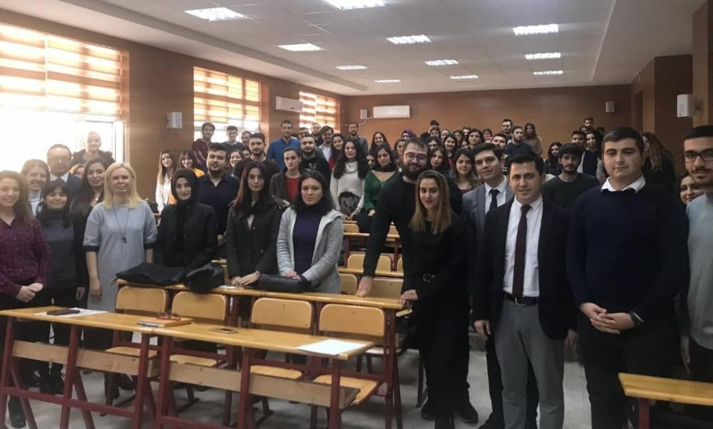 """Perakendecilik Dersi Kapsamında """"Migros İK Perakende Buluşması"""" Paneli Düzenlendi"""