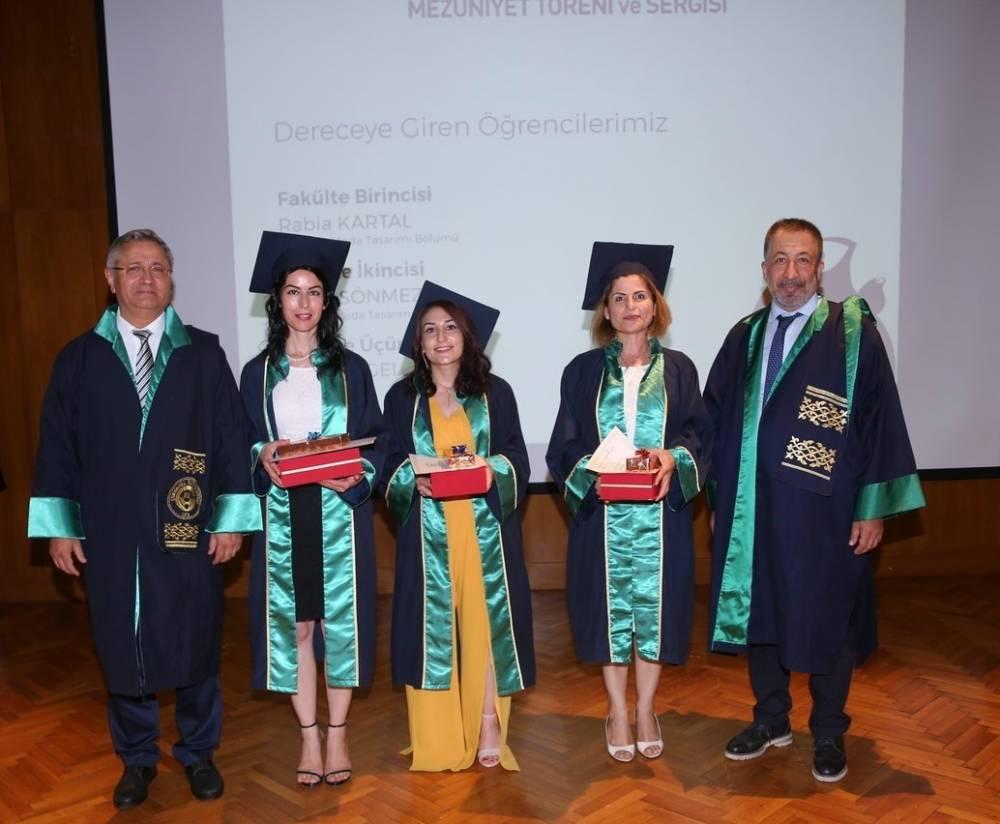 Çukurova Üniversitesi Güzel Sanatlar Fakültesi Genç Sanatçılarını Uğurladı