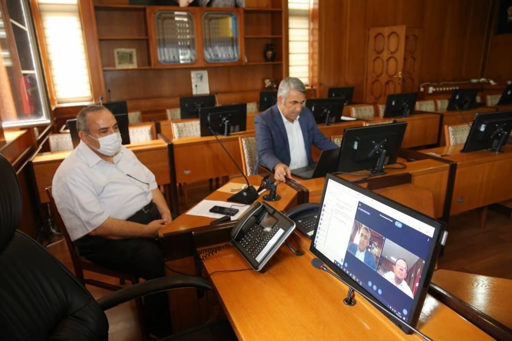 15 Temmuz Demokrasi ve Milli Birlik Günü Covid-19 Tedbirleri Kapsamında Çukurova Üniversitesinde Anıldı