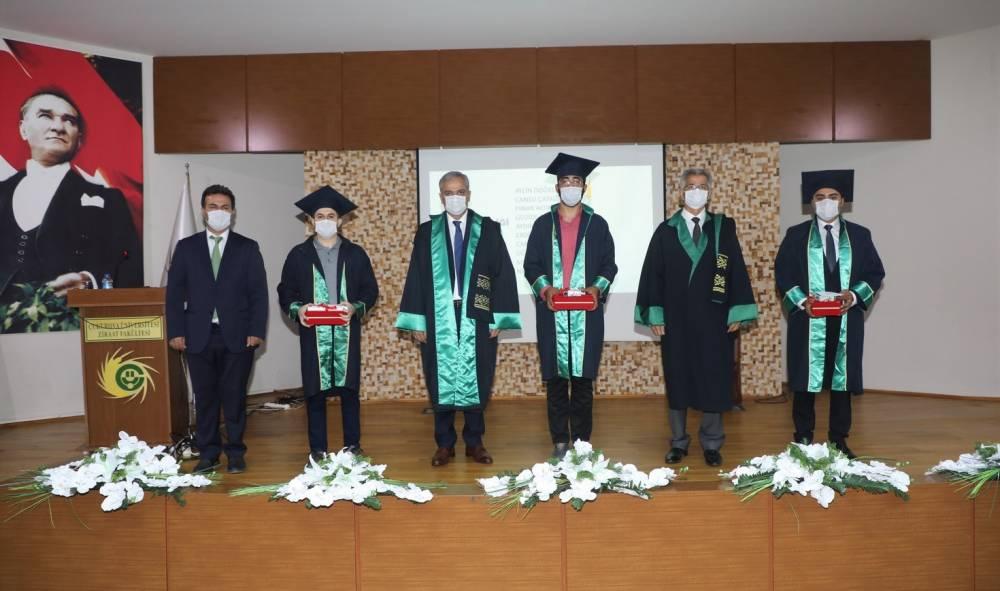 Çukurova Üniversitesi Ziraat Fakültesi Mezunları İçin Online Mezuniyet Töreni Düzenlendi