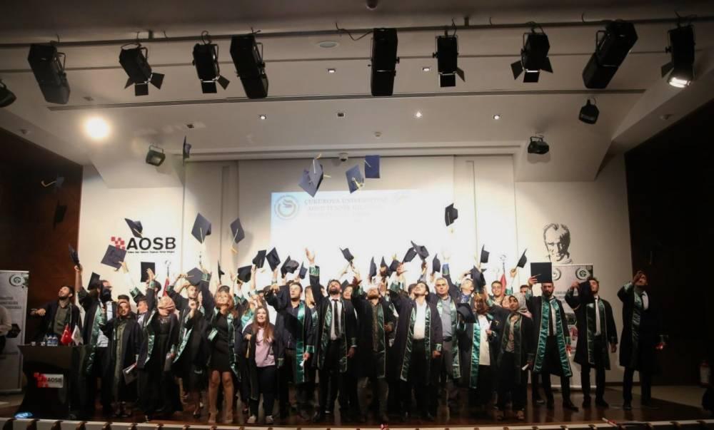 AOSB Teknik Bilimler Meslek Yüksekokulu'nu Yeni Mezunlarını Uğurladı