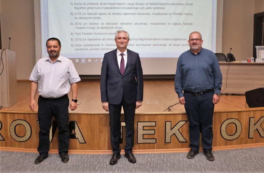 Çukurova Teknokent Yönetim Kurulu Başkanı Prof. Dr. Selçuk Çolak Oldu