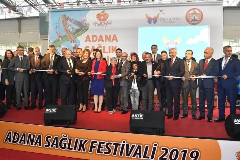 Çukurova Üniversitesi Sağlık Festivaline Damga Vurdu