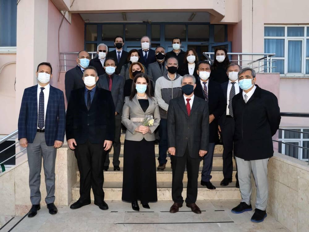 Prof. Dr. Tuncel Karaisalı MYO'daydı