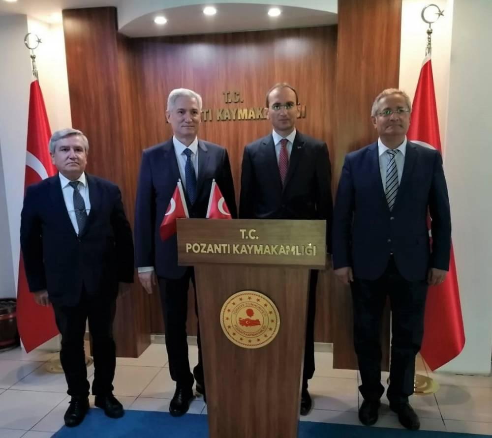 Çukurova Üniversitesi Yönetimi Pozantı'daydı