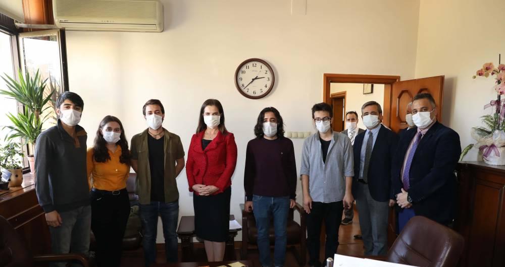 Çukurova Üniversitesi Yönetimi Öğrencilerle Bir Araya Geldi