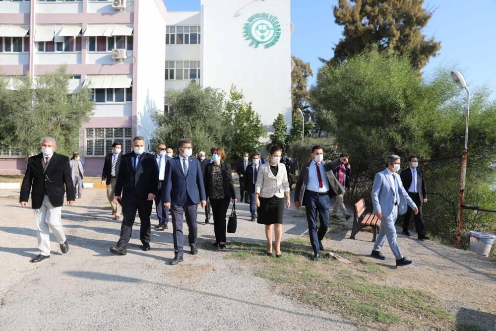 Rektör Prof. Dr. Tuncel Adana MYO'da İncelemelerde Bulundu