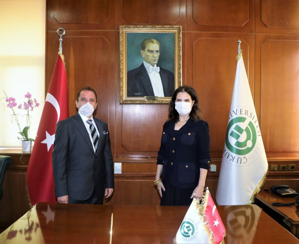 Prof. Dr. Depci'den, Prof. Dr. Tuncel'e Ziyaret
