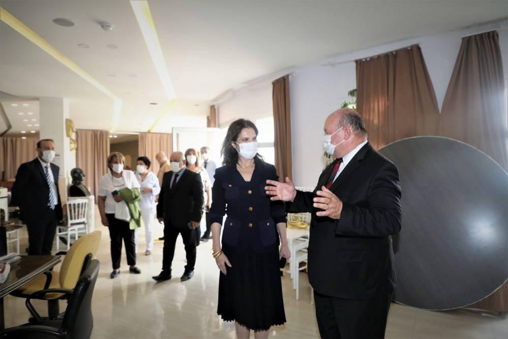 Rektör Prof. Dr. Tuncel ÇGC'yi Ziyaret Etti