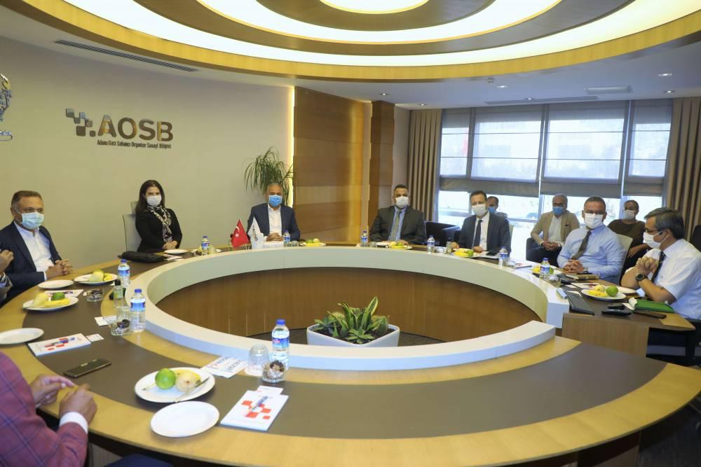 Rektör Prof. Dr. Tuncel, Adana Organize Sanayi Bölgesi Yönetimini Ziyaret Etti