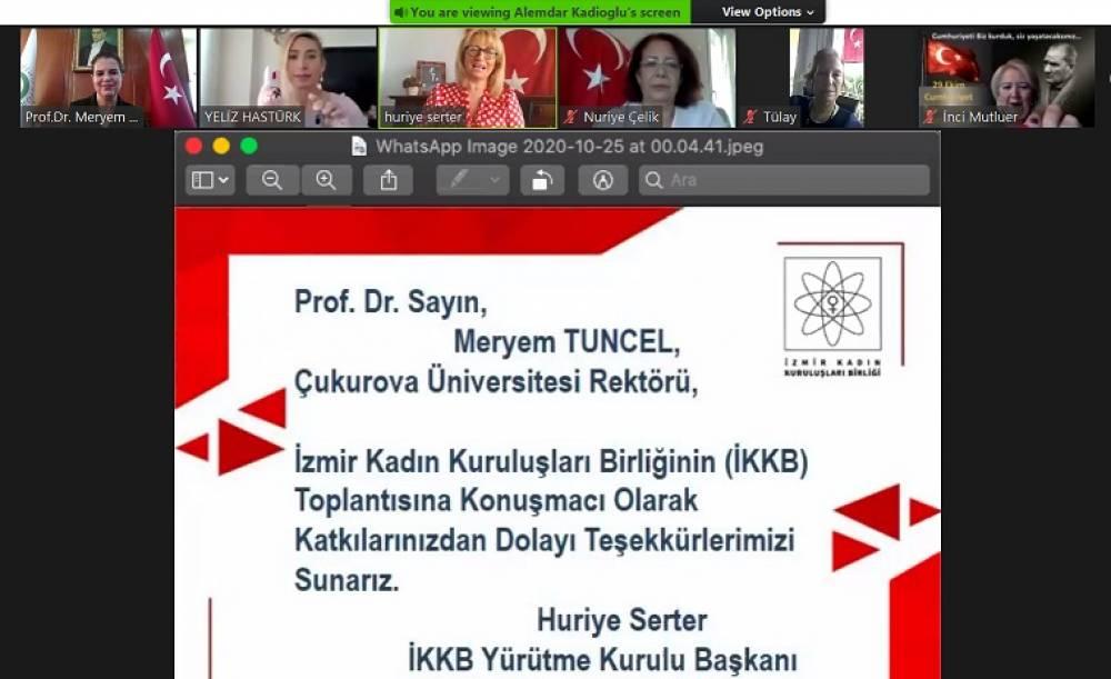 """Rektör Prof. Dr. Meryem Tuncel: """"Cumhuriyet, Türk Milletinin Yaşama Azim ve İradesinin Çelikleşmiş İfadesidir…"""""""
